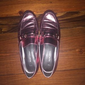 ASOS Metallic Pink Gucci Style Loafers